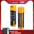 Bateria recarregável recarregável ARB-L18-3500U mah 3500 do li-íon de fenix 18650 usb