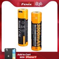 Fenix ARB L18 3500U USB Rechargeable 3500mAh 18650 Rechargeable Li ion Battery|Portable Lighting Accessories| |  -