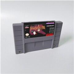 Image 2 - Juego Final Fantasy Mystic Quest or II III IV V VI 1 2 3 4 5 6 tarjeta de juego RPG versión de EE. UU. Ahorro de batería en idioma inglés