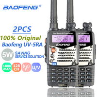 5ra uv 2pcs Baofeng UV-5RA Ham Radio Dual Band 136-174 & 400-520MHz Baofeng UV5R UV5R סדרה מכשיר הקשר CB רדיו משדר Telsiz (1)