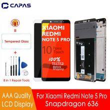 ЖК дисплей для Redmi Note 5 Pro, 10 дюймов, сенсорный экран + рамка для Xiaomi Redmi Note 5 Global, ЖК экран Snapdragon 636, дисплей