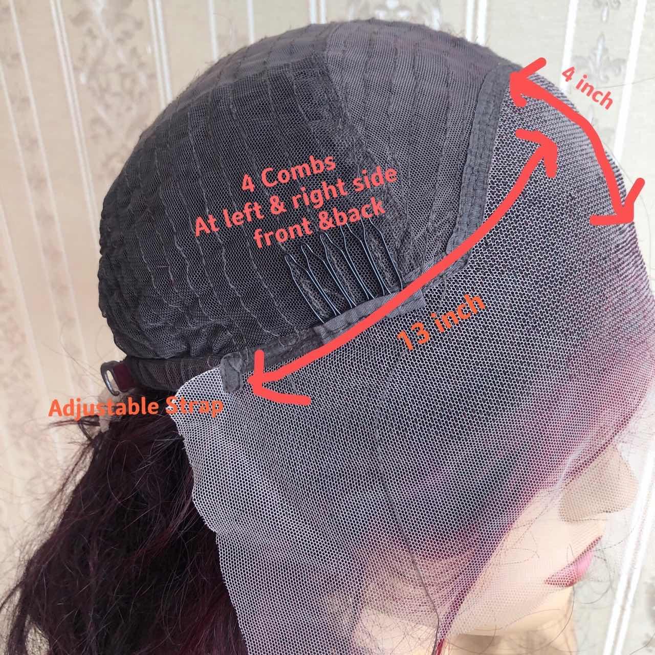 perucas naturais linha fina onda solta remy