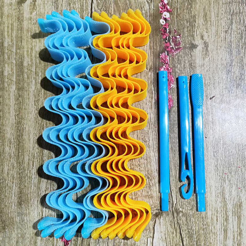 DIY Magic Hair Curler Portable 12PCS Hairstyle Roller Sticks Durable Beauty Makeup Curling Hair Styling Tools