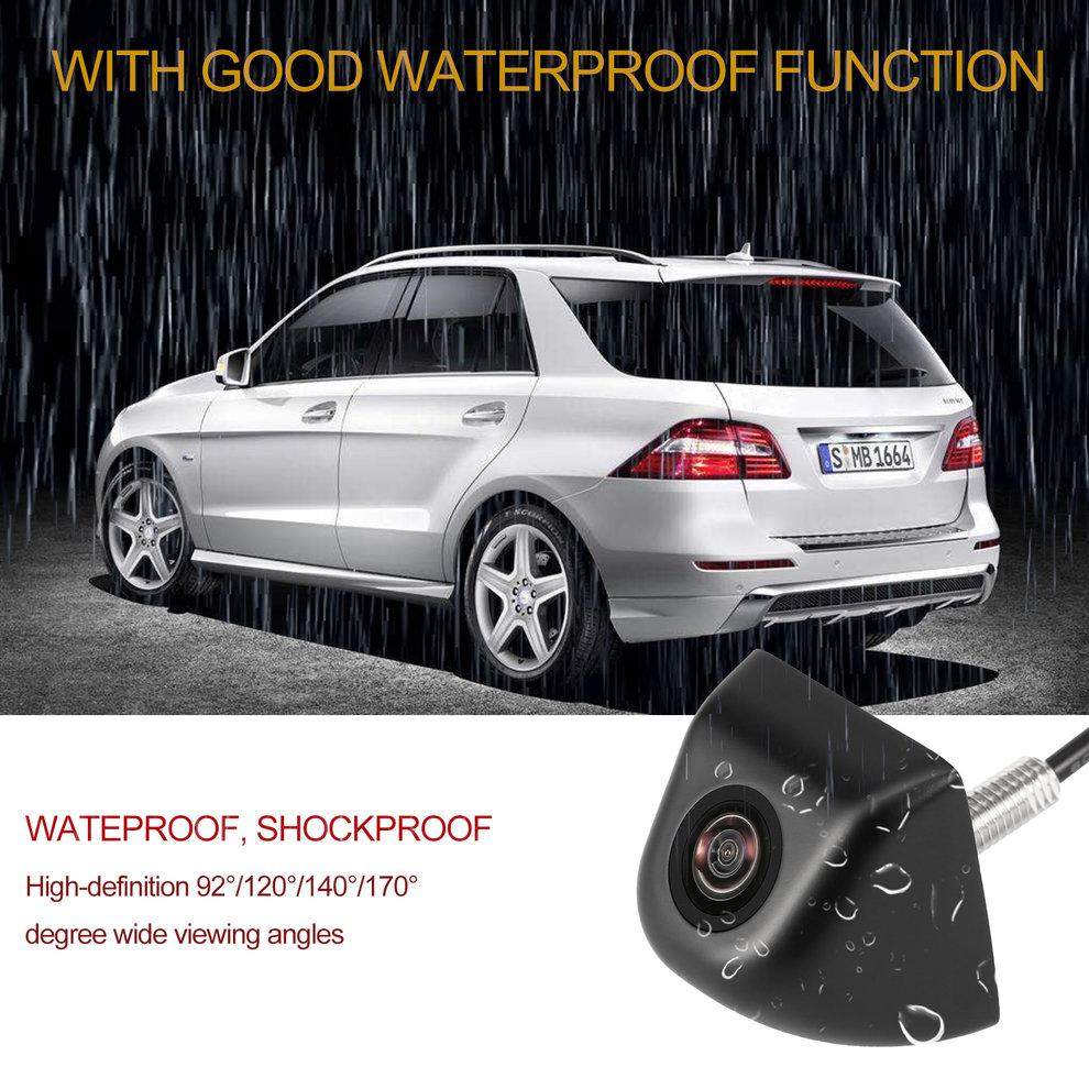 Universal Schwarz Licht-gewicht Einfach Installieren Auto Rückansicht Kamera Glas Objektiv Auto Reverse Backup Kamera Auto DVD Parkplatz monitor