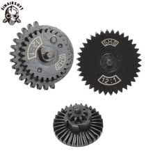 SINAIRSOFT 12:1 Ultra high Speed Gear Set Hunting Accessories For Ver.2 / 3 AEG BB Airsoft Gearbox New Type Gear Set Paintball