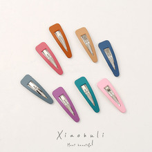 Korean hair accessories women temperament wild bb clip color side bangs trend hairpin