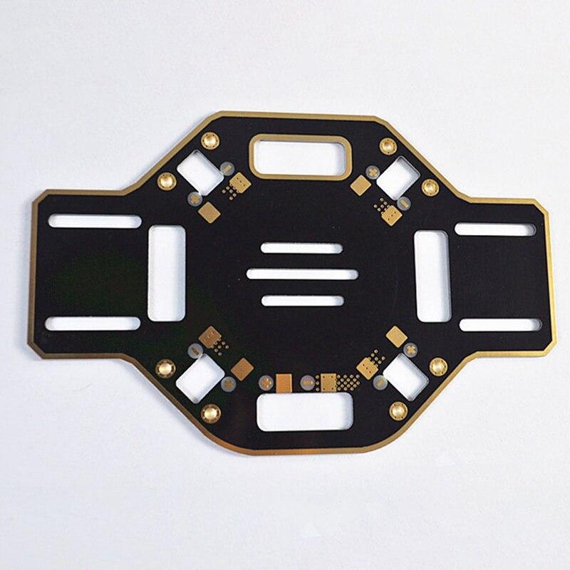 F450 Hot Wheels Diy Quadcopter Frame F450 Rack Integrated Pcb Board Diy Drone 4-Axis Frame Kit (Black)