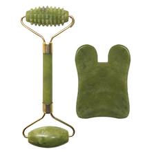 Skin-Care Scraper-Board Lifting Jade-Roller Facial Massage Relaxation Guasha Face Natural-Stone