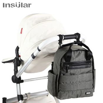 Insular Mummy Maternity Diaper Backpack Large Capacity Nappy Bag Travel Backpack Nursing Bag For Baby Care Women's Fashion Bags цена 2017