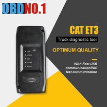 ใหม่ 2020 CAT ET 3 ไร้สายProfessionalเครื่องมือวินิจฉัยรถบรรทุกแมวET3 อะแดปเตอร์การสื่อสารIIIการเชื่อมต่อUSB