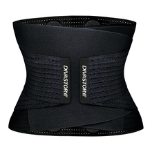 Burvogue Neoprene Sweat Waist Trainer Fitness Belt Thermo Body Shaper Trimmer Corset Waist Cincher Wrap Workout Slim Shapewear