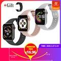 Новые F10 Смарт-часы с полным сенсорным экраном Bluetooth Смарт-часы камера монитор сердечного ритма водонепроницаемый смарт-браслет PK iwatch 4 IWO8