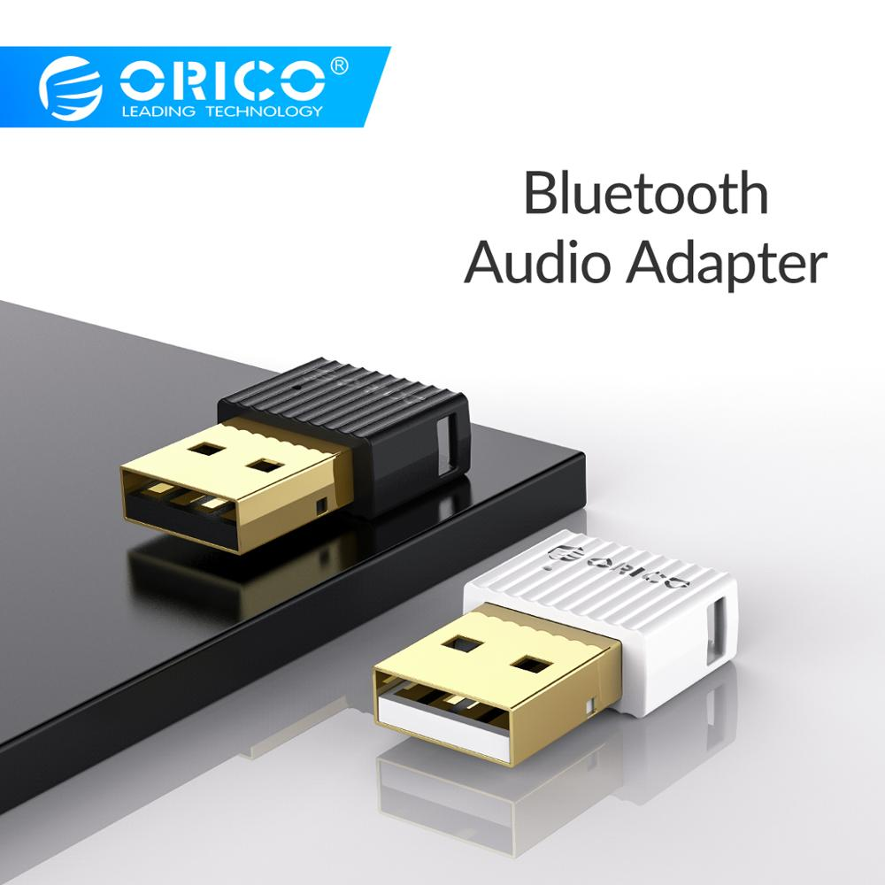ORICO USB <font><b>Bluetooth</b></font> 4,2 + EDR Audio Remote Transmitter Mini Wireless Stereo Musik Adapter <font><b>Bluetooth</b></font> Dongle Für Desktop Laptop image