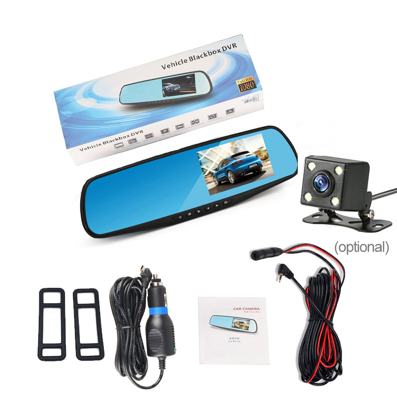 Full HD 1080P Car Dvr Camera Auto 4.3 Camcorder 5