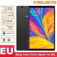 Teclast P10HD 4G Phone Call Tablets Octa Core da 10.1 pollici IPS 1920x1200 3GB di RAM 32GB ROM SC9863A GPS del Android 9.0 tablet PC 6000mAh