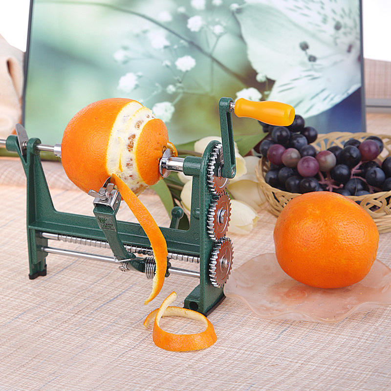 New Counter Top Hand Apple Orange Potato Peeler Fruit Vegatable Peel Remover Kitchen Gadgets and Accessories