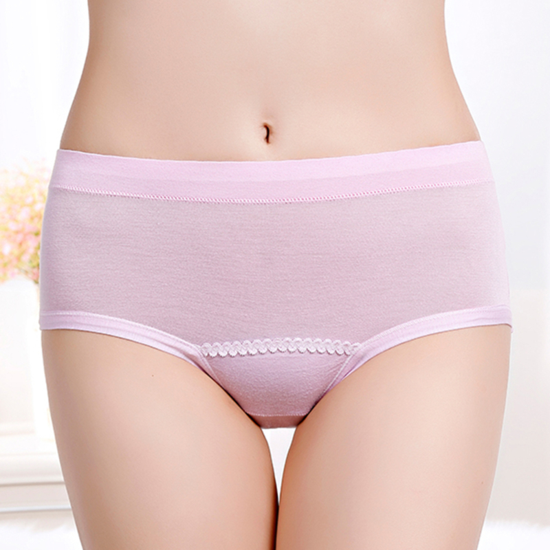 Leak Proof Menstrual Panties Physiological Pants Women Underwear Period Briefs Plus Size Female Lingerie