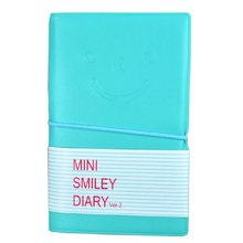 Diary Cute Charming Mini Portable Smile Smiley Paper Notebook Memo Note Book Multicolor options