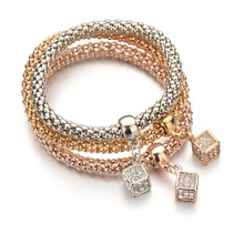 2020 Love Bracelet Bracelet Pendant With Chain Of Spring Corn Trichromatic Suite First Act The Role Ofing Is Tasted act of love