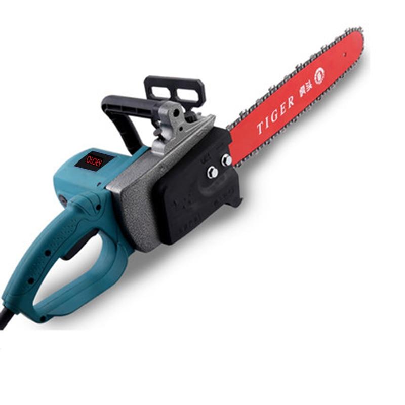Electric Chain Saw Logging Saw High Power Icebreaker Household Wood Cutting Machine 16 inch Chain Saw Woodworking Power Tools|Electric Saws| |  - title=