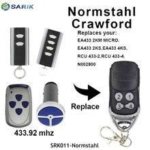 Normstahl EA433 2KS, EA433 4KS 433,92 МГц плавающий код дистанционного управления