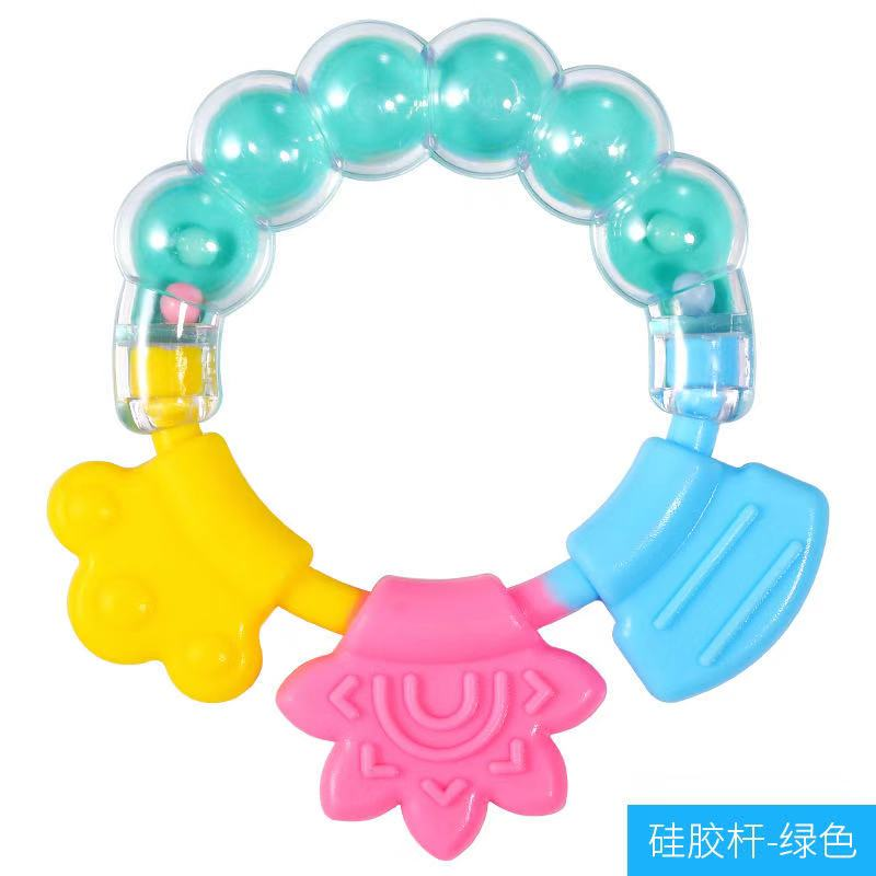 Прорезыватель для зубов, игрушка из бисера, силикон, 1 ребенок, ПВХ, бесплатно, 3 - 12 месяцев, Круглый, хорошая торговля, жевательная игрушка, по...