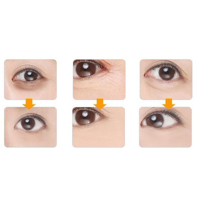 10Pcs=5Pairs Gold Crystal Collagen Eye Mask Patches For Eye Anti-Aging Acne Korean Cosmetics Skin Care 4