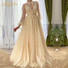 Элегантное Тюлевое платье для выпускного вечера 2020 Пышное