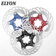 ELYON Floating Disc Brake Mountain Bike Card Five-nail Six-hole Heat Dissipation Bike Brake Disc 160mm 180mm 203mm Brake Rotor 160mm 180mm 203mm disc brake rotor for snail mountain bike mtb float floating cycling bicycle aluminum rotors disc brake rotor