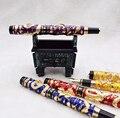 Jinhao Awesome бронзовый металлический держатель для перьевой ручки  роликовая ручка  подставка для дисплея  чехол-карандаш  сумка для ручки с 3D ти...