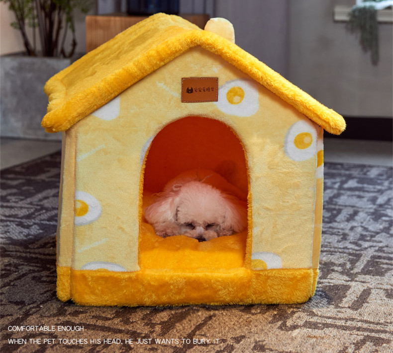 Foldable Pet House Bed Image