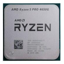 Amd ryzen 5 pro 4650g r5 pro 4650g 3.7 ghz seis-núcleo doze-linha 65w processador cpu l3 = 8m 100-000000143 soquete am4