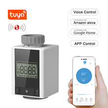 Radiator-Valve Thermostatic Smart-Heating-Radiator Programmable Tuya Voice-Control APP