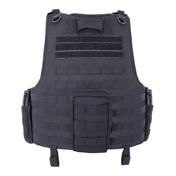 MGFLASHFORCE Molle Airsoft Vest Tactical Vest Plate Carrier Swat Fishing Hunting Vest Military Army Armor Police Vest 2