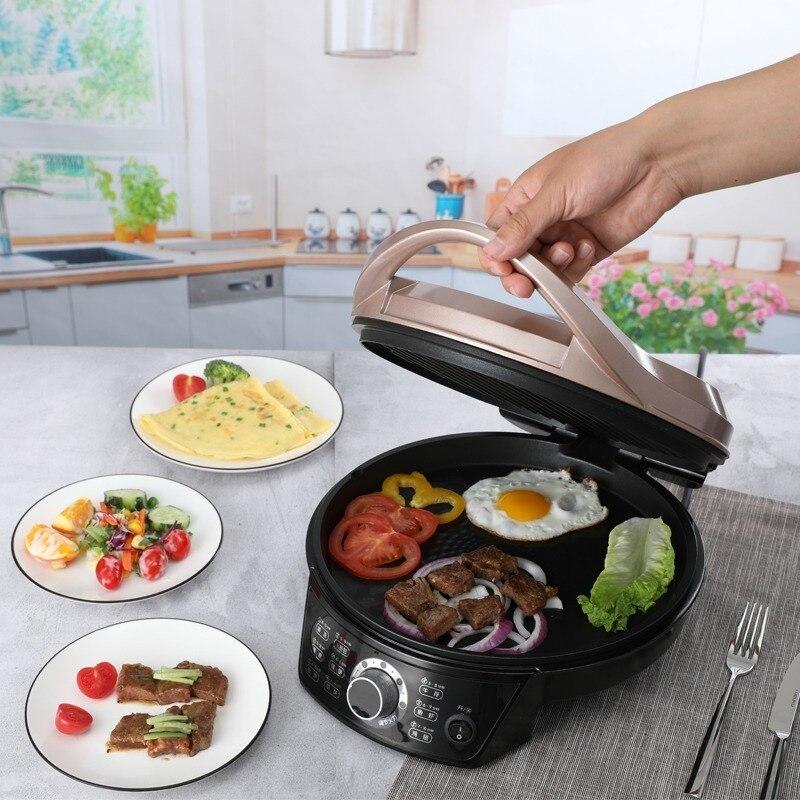 electric cooker Electric baking pan, electric cake stall, household double-sided heating pancake pan, pancake maker 1