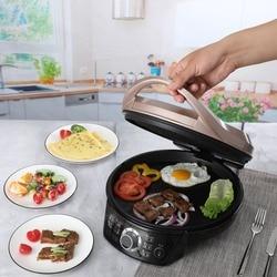 electric cooker Electric baking pan, electric cake stall, household double-sided heating pancake pan, pancake maker