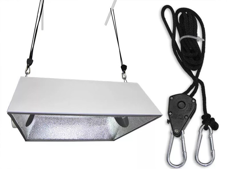2PC Adjustable Pulley Sling Sling Ratchet Hook Maximum Load 150 Lb Lamp Lifter Reflector Cup LED Hanger Assembly Sling
