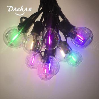 25 led wedding string fairy light Christmas LED Globe multi colors bulb fairy string light outdoor party garden garland