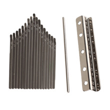 Kalimba изготовление пальчиковых фортепиано Mbira 17 ключей и мост седло производитель DIY инструмент