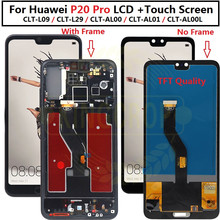 """TFT 6.1""""LCD For Huawei P20 Pro LCD with frame Display Screen Touch Digitizer Assembly P20 Pro CLT AL01  L29 Lcd P20 Plus Display"""