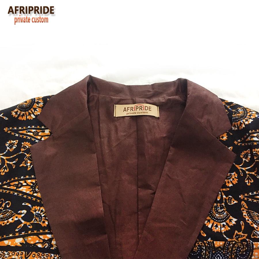アフリカのファッションスタイルメンズスーツジャケットアフリカ服最新のコートのデザインプリント綿ワックスプライベートカスタムプラス sizeA731401  グループ上の ノベルティ & 特殊用途 からの アフリカ 服 の中 3