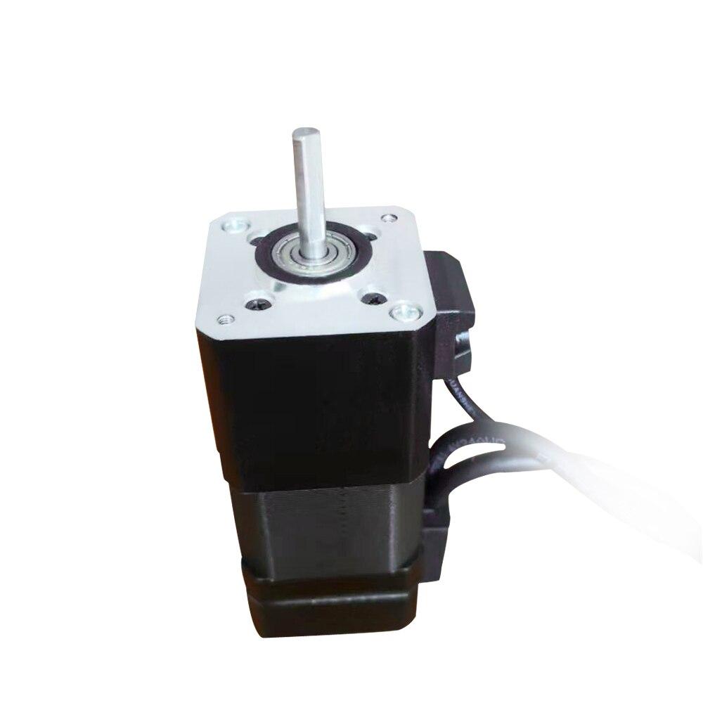 Nema 17 42BYG moteur pas à pas 1.8 degrés 2 phases 48mm 0.5N.m 1.8A 24V frein avant avec encodeur