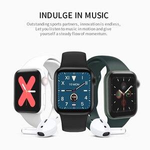 Image 3 - Lerbyee Smart Uhr W58pro Körper Temperatur Herz Rate Monitor Bluetooth Fitness Tracker Rufen Erinnerung Männer Frauen Smartwatch 2020