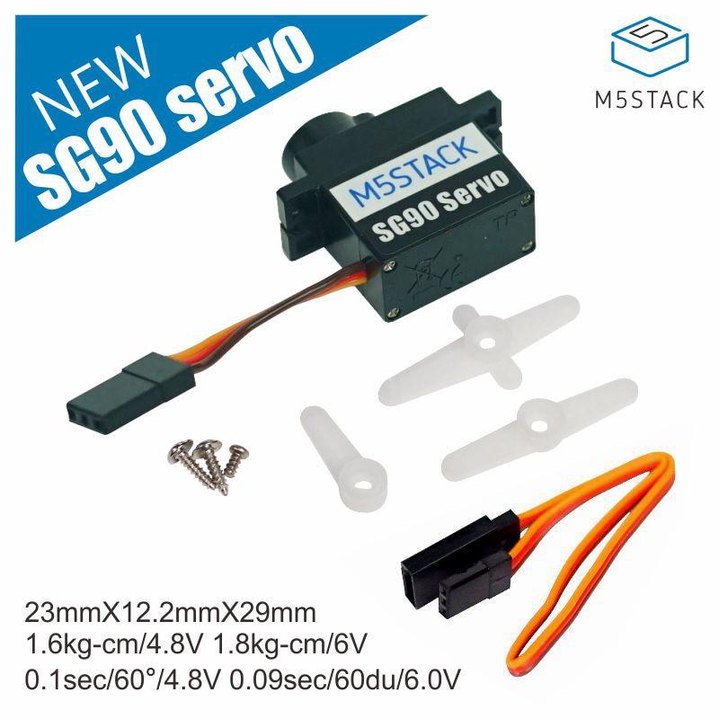 M5Stack SG90 Servo Custom 9G SERVO Plastic Teeth Can Be Used With 8Servos HAT And PuppyC