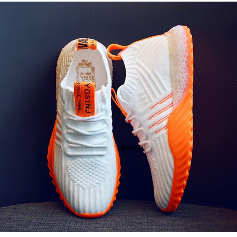 Women Casual Shoes Fashion Breathable Walking Mesh Lace Up Flat Shoes Sneakers Women Vulcanize Shoes 2020 Tenis Feminino Shoes