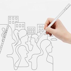 K05 otário magnético de carregamento ativo caneta stylus metal ponta cobre universal tablet lápis para huawei appple capacitivo touchscreen