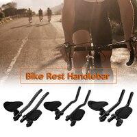 3 Type Bicycle Rest Handlebar Cycling Lightweight Bike Relaxation Handle Bar Triathlon MTB Road Arm Rest Bar Bike Aerobar