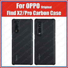 CPH2025 Carbon Fiber Ultra thin Kevlar OPPO Find X2 Pro Case Original Find X2