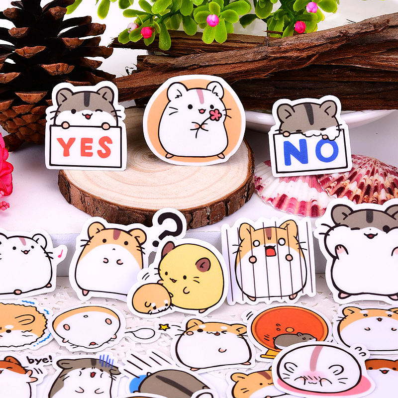 Little Hamster Sticker