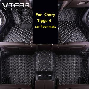 Image 1 - Vtear לchery Tiggo 4 פנים שטיח רצפה עמיד למים כרית שטיחי מחצלת כיסוי קישוט סטיילינג Mouldings אביזרי חלקים